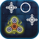 Fidget Spinner Circle Leap Neon Glow by MobaGame