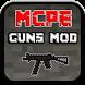 GUNS MOD FOR MCPE by RzSoft