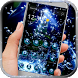 Blue Water Drop Launcher Theme by Fantastic theme