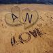 حرفك وحرف حبيبك على الرمل by Lola