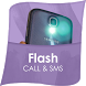 Flash Alert on Call and SMS by Application Store