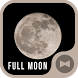 Stylish Wallpaper Full Moon Theme by +HOME by Ateam