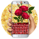 Rose petal love keyboard by Bestheme Keyboard Designer 3D &HD