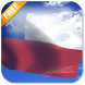3D Chile Flag Live Wallpaper by App4Joy