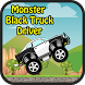 Monster Black Truck Driver by Androface.com