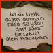 Gambar DP Kata Menyentuh Hati by Map