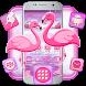 Flamingo Romantic Theme by Launcher Fantasy