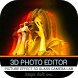 3D Photo Editor-Picture Effect 3D Glass Camera Lab