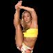 Standing Splits in Yoga by Amacast