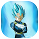 Vegeta Wallpaper HD Art by A profesional designer