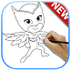 Guide for Draw PJ Masks by lotix apps
