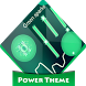 Green sparks Poweramp Skin