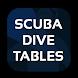 Scuba Dive Tables by Novaroma Design