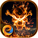 Flame Skull - eTheme Launcher by Egame Studio
