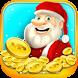 Christmas Gift Coin Dozer Game by Nimble Games