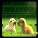 Kawaii Puppy Keyboard by beautifulwallpaper