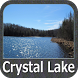 Crystal Lake - IOWA GPS Map by FLYTOMAP