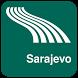 Sarajevo Map offline by iniCall.com