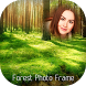 Forest photo frame by Best Appie Studio