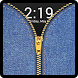 Zipper Lock Screen Jeans by Technology expertise