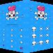 AppLock Theme Skull