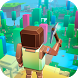 Stranded Cube Island Survival by GamesArcade