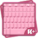 Pink Bow Keyboard by Great Keyboard Themes