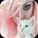 Kitty Girl Lock Screen by Gospeed Locker