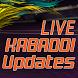 Live Kabaddi Updates by KrushikDhaduk