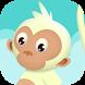 Monkey Climbing by Peafone Studio
