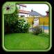 Small Corner Garden Design by Black Arachnia