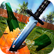 Flippy Knife Throw To Bottle Target Simulator by Hot Lava Games Dev