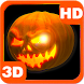 Mysterious Scary 3D Pumpkin by PiedLove.com Personalizations