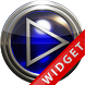 Poweramp Widget Blue Glas by Maystarwerk Skins & Widgets Vol.1