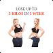 Weightloss 5 kilos in 1 week by Apptrepenuers