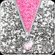★ Sequin Zipper Lock Screen ★ by Jellytap