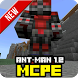 Mod Ant-Man 1.2 for MCPE by Studio Game Pro