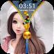 Cute Doll Zipper Lock Screen by Epoch Zipper Studio