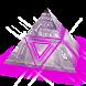 Translucid purple GO Keyboard by Zen Themes