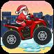 Santa Motorcycle Hill Climb by BMPROD