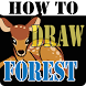 HowToDraw Forest by icesimon