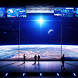 wallpaper space station by motion interactive