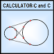 Coordinates calculator c and c by cadtec