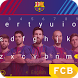 Barcelona Indestructable Keyboard Theme by Kika Sports Keyboard Theme Lab
