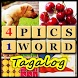 4 Pics 1 Word Tagalog by Fedmich
