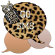 GO SMS - Cheetah Owl by SCSCreations