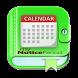 Period Tracker calendar 2018 : My Notice Period