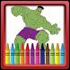 Super Hero Coloring Book by Aladdin Coloring