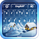 Winter Keyboard by BestThemes