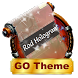 Rod Hologram GO SMS by Rich Themes